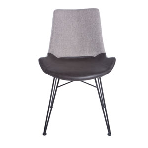 Alisa Side Chair in Light Gray - Set of 2