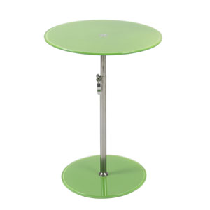 Radinka Green Printed Glass Side Table