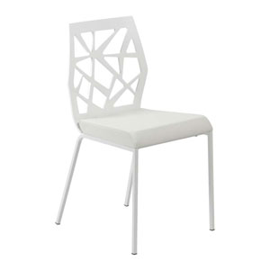 Sophia White Side Chair, Set of Two