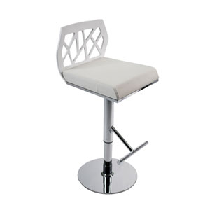 Sophia White Bar/Counter Stool