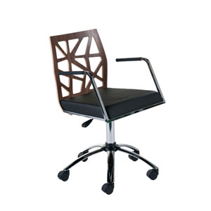 Sophia Walnut Office Chair