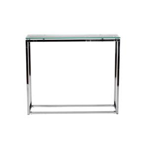 Sandor Clear Glass Console Table