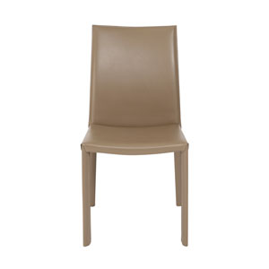 Hasina Dining Chair in Taupe - Set of 2