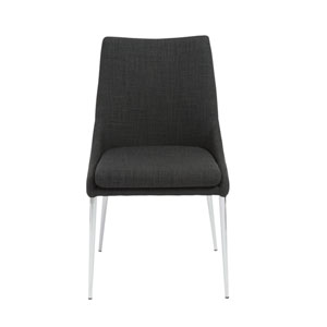 Tarnana Charcoal Side Chair, Set of 2