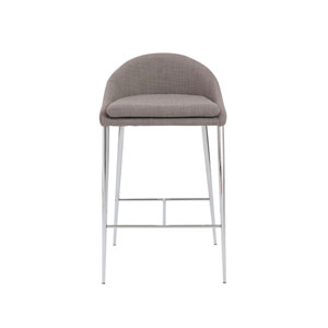 Brielle Gray Counter Stool, Set of 2