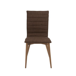 Yoland Brown Side Chair, Set of 2