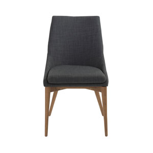 Calais Charcoal Side Chair, Set of 2