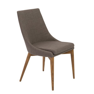 Calais Dark Gray Side Chair, Set of 2