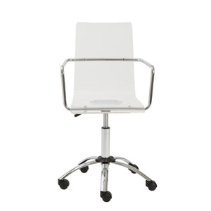 Chloe Clear Office Chair