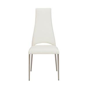 Tara White Side Chair, Set of 4
