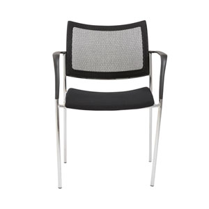 Vahn Black Mesh Chair