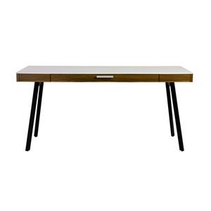 Hart Desk in Black with White Frame
