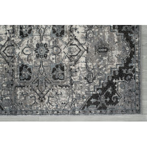 Alexandria Ivory Machine-Made Rectangle 4 Ft. x 6 Ft. Rug