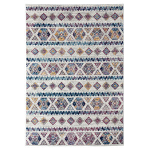 Alexandria Gray Polypropylene Rectangle 8 Ft. 9 In. x 11 Ft. 9 In. Rug