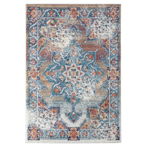 Alexandria Gray Rectangle 7 Ft. 9 In. x 9 Ft. 9 In. Rug