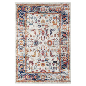 Alexandria Ivory Machine-Made Rectangle 8 Ft. 9 In. x 11 Ft. 9 In. Rug
