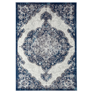 Alexandria Ivory Rectangle 7 Ft. 9 In. x 9 Ft. 9 In. Rug