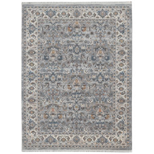 Arcadia Gray Rectangle 7 Ft. 1 In. x 10 Ft. Rug