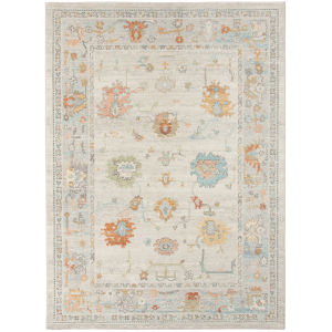 Bohemian Beige Polypropylene Rectangle 7 Ft. 9 In. x 9 Ft. 9 In. Rug