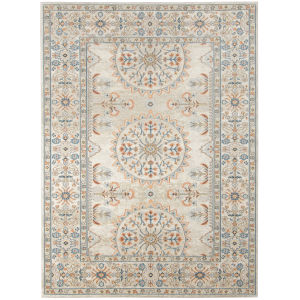 Bohemian Tan Rectangle 7 Ft. 9 In. x 9 Ft. 9 In. Rug