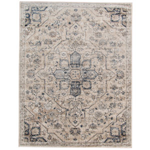 Belmont Ivory Polypropylene Rectangle 3 Ft. 11 In. x 5 Ft. 11 In. Rug