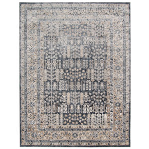 Belmont Graphite Rectangle 8 Ft. 7 In. x 11 Ft. 6 In. Rug