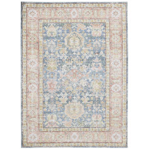 Century Navy Rectangle 9 Ft. x 13 Ft. Rug