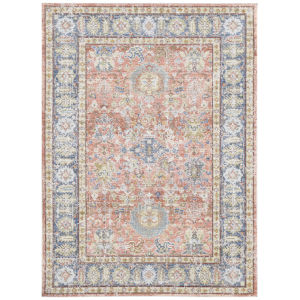 Century Living coral Rectangle 5 Ft. 3 In. x 7 Ft. 3 In. Rug