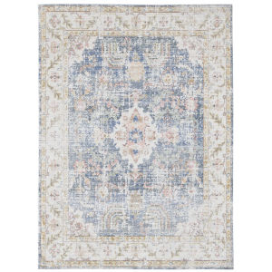 Century Indigo Blue Rectangle 3 Ft. 11 In. x 5 Ft. 11 In. Rug