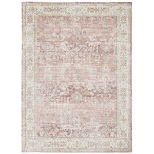 Century Salmon Pink Rectangle 5 Ft. 3 In. x 7 Ft. 3 In. Rug