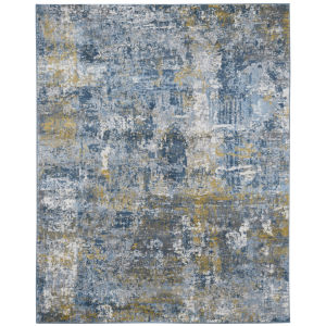 Cairo Gray Gold Rectangle 7 Ft. 10 In. x 10 Ft. 10 In. Rug