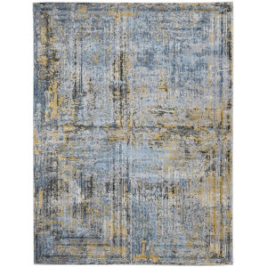 Cairo Dark Gray Rectangle 7 Ft. 10 In. x 10 Ft. 10 In. Rug