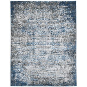 Cairo Grayesh Blue Rectangle 9 Ft. 2 In. x 12 Ft. 2 In. Rug