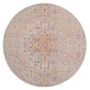 Eternal Ivory Round 6 Ft. 7 In. x 6 Ft. 7 In. Rug