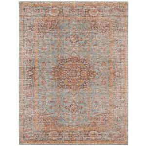 Eternal Seafoam Green Rectangle 5 Ft. 7 In. x 7 Ft. 6 In. Rug