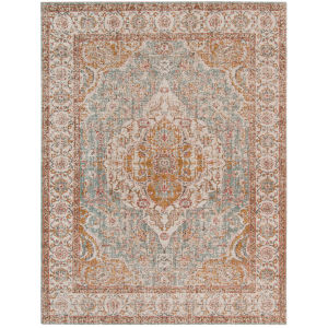 Eternal Sea Mist Rectangle 7 Ft. 6 In. x 9 Ft. 6 In. Rug