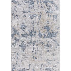 Hamilton Ivory Light Blue Rectangular: 5 Ft. 3 In. x 7 Ft. 6 In. Rug