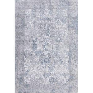 Hamilton Gray Blue Rectangular: 4 Ft. 1 In. x 6 Ft. Rug