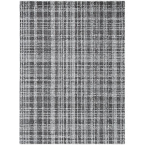 Laurel Charcoal Rectangular: 7 Ft. 6 In. x 9 Ft. 6 In. Rug