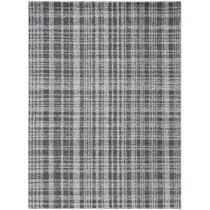 Laurel Charcoal Rectangular: 8 Ft. 6 In. x 11 Ft. 6 In. Rug