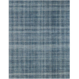 Laurel Turquoise Blue Rectangular: 8 Ft. 6 In. x 11 Ft. 6 In. Rug