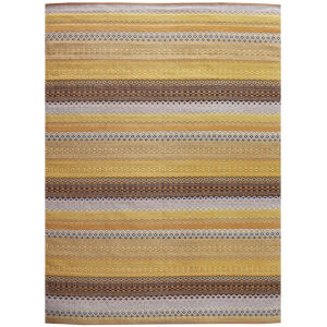 Petra Yellow Rectangular: 8 Ft. x 10 Ft. Rug