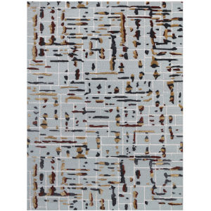 Perla Sky Blue Rectangle 7 Ft. 6 In. x 9 Ft. 6 In. Rug