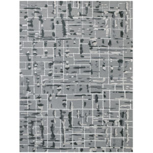 Perla Gray Rectangle 7 Ft. 6 In. x 9 Ft. 6 In. Rug