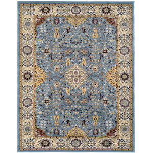 Sanya Blue Rectangular: 4 Ft. x 6 Ft. Rug