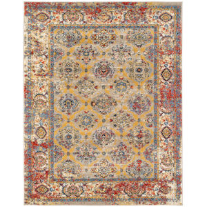 Sanya Multicolor Rectangular: 5 Ft. 1 In. x 7 Ft. 6 In. Rug