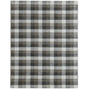 Tartan Khaki Rectangular: 8 Ft. x 10 Ft. Rug