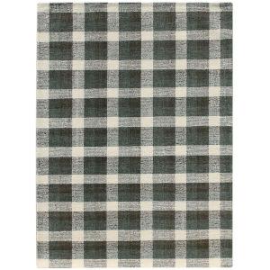 Tartan Charcoal Rectangular: 8 Ft. x 10 Ft. Rug