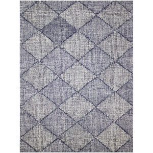 Amanya Navy Rectangular: 7 Ft. 6 In. x 9 Ft. 6 In. Rug