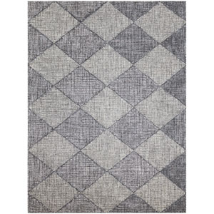 Amanya Gray Rectangular: 7 Ft. 6 In. x 9 Ft. 6 In. Rug
